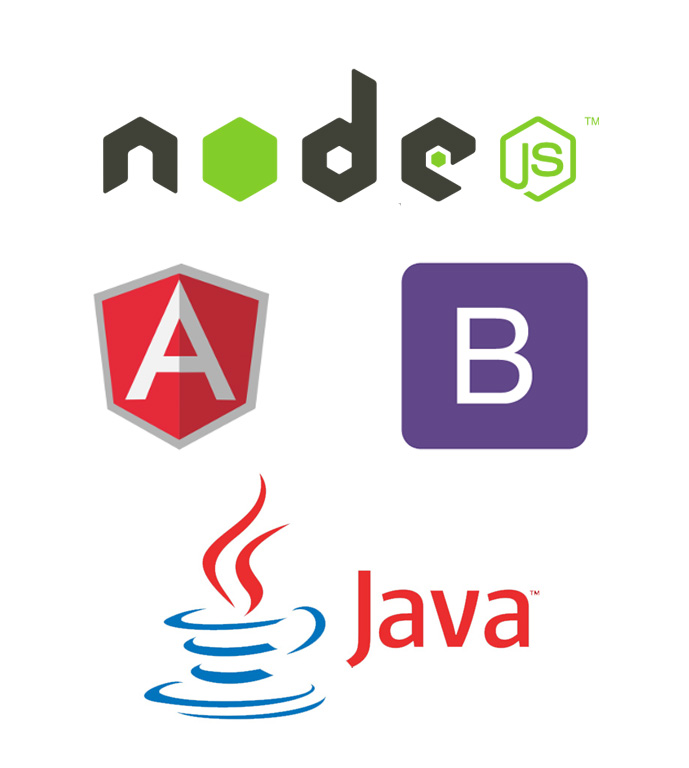 Java Bootstrap Angular Node.js