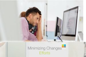 minimizing changes efforts