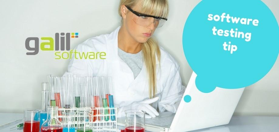 software testing tip